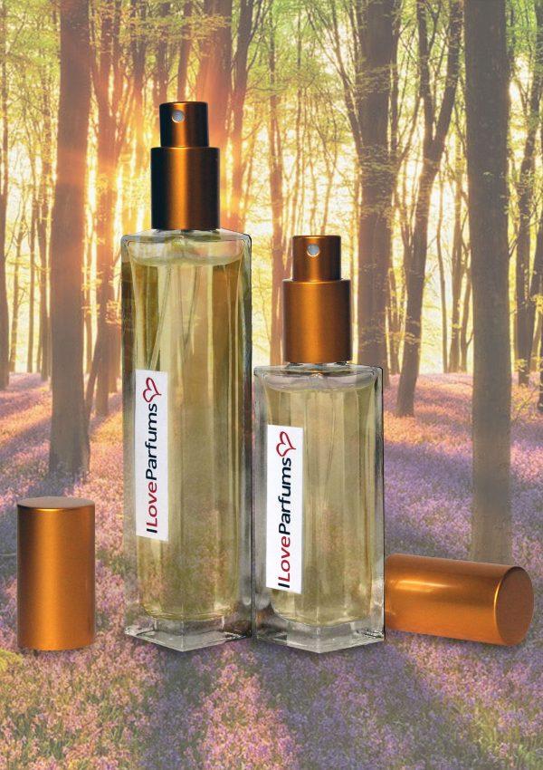 dřevitý dámský parfém